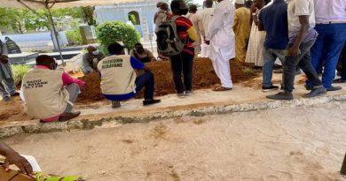 Le Cheick Mamadou Traoré repose désormais au cimetière de Williamsville