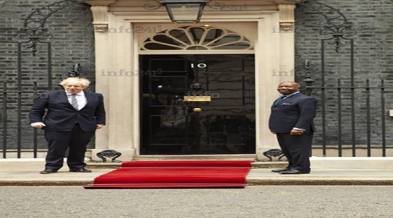 Gabon : Ali Bongo tout boitillant et sans grande forme, rencontre Boris Johnson à Londres (Vidéo)